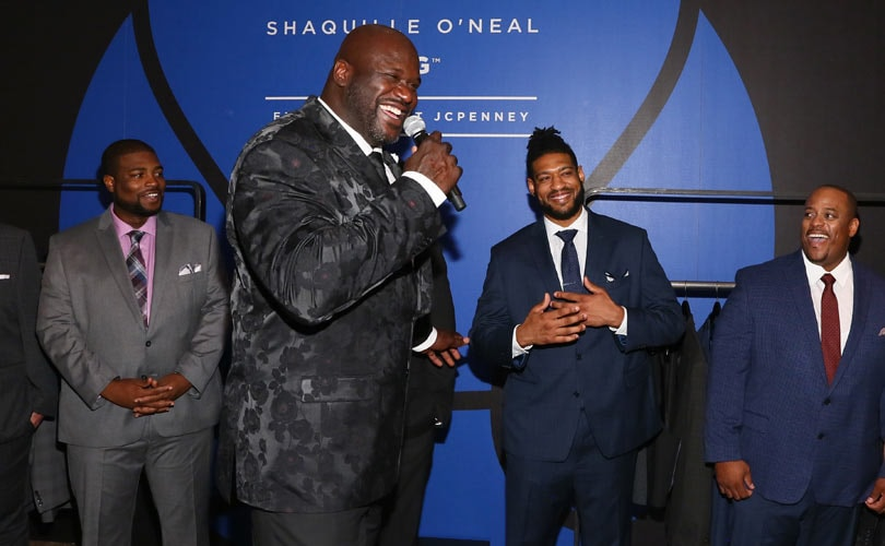 7efd5ba32 Shaquille O'Neal launches big & tall collection with JCPenney