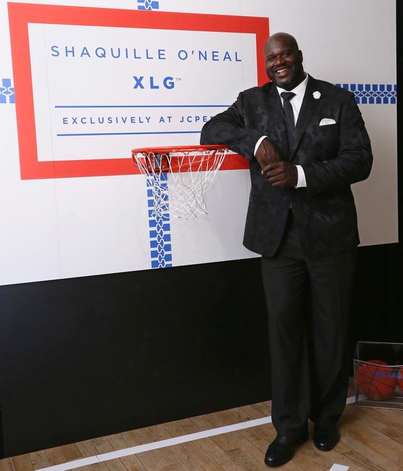 480a58b73d879a Shaquille O'Neal launches big & tall collection with JCPenney