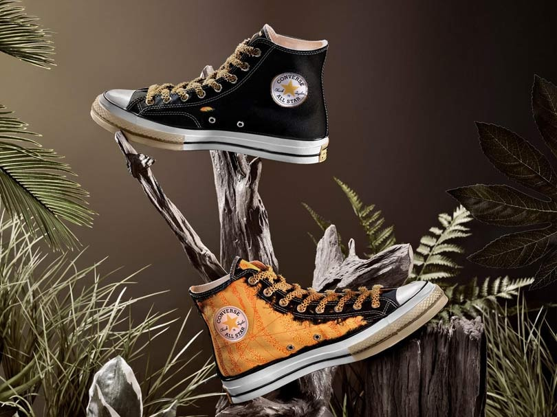 9b3523d44f1263 New Converse x Dr. Woo collab  sneakers that change color with wear and tear
