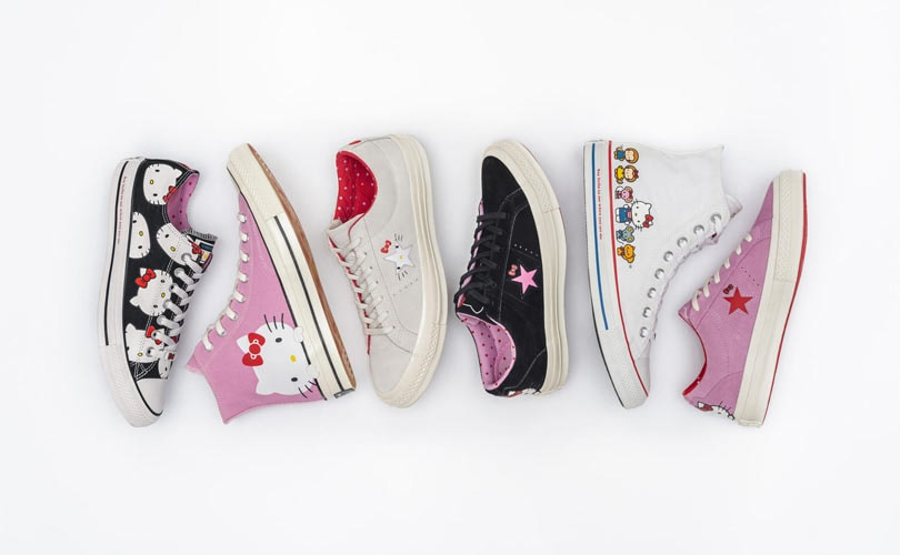 In pictures: Converse to launch Hello Kitty collection