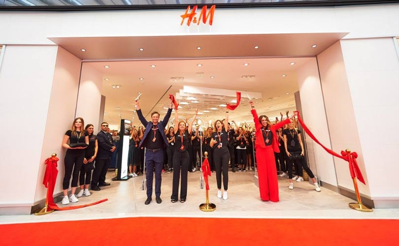 H&M opens first store in Ukraine