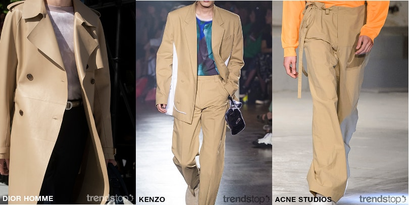 SS19 Men's Fast Fashion Colour Directions