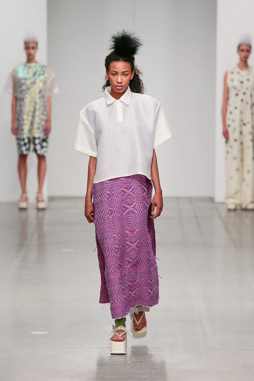 From graduate to Nina Ricci's artistic director in 4 years: Lisi Herrebrugh's graduation show