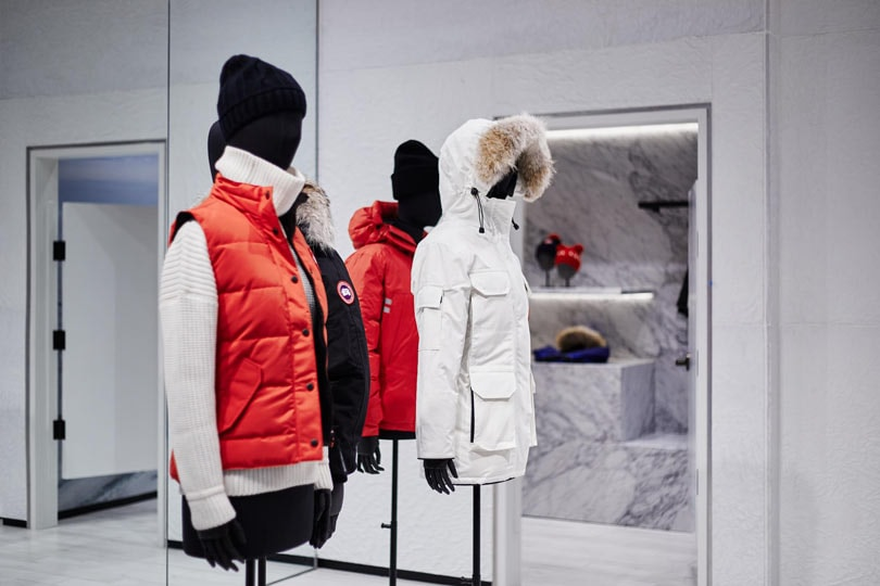 In Pictures Canada Goose To Add Cold Rooms To Its Stores