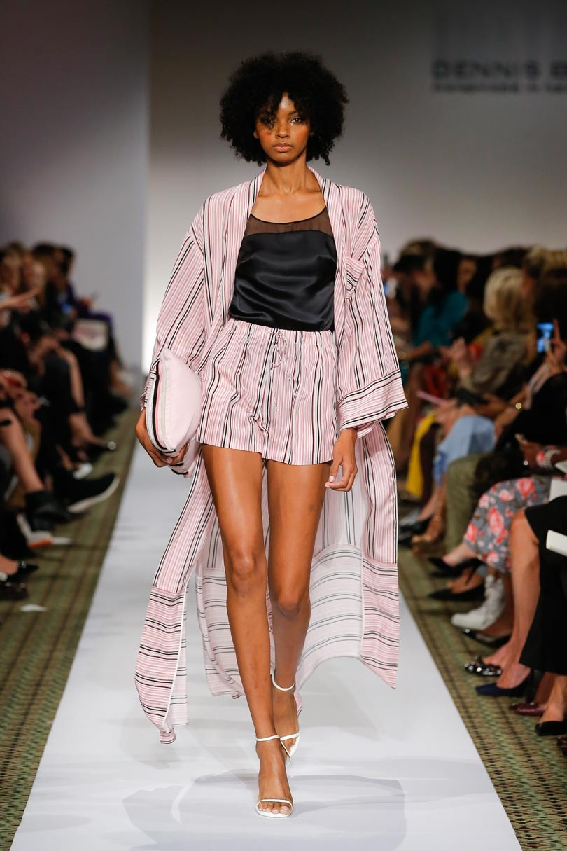Dennis Basso found inspiration from the global woman at NYFW