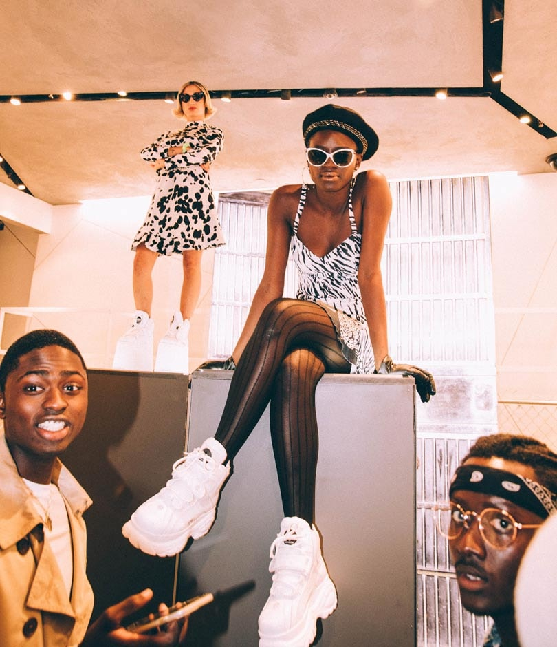 Buffalo London make NYFW debut with new and archival styles showcase