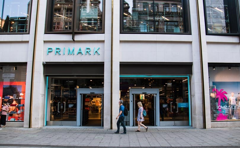 Primark profit increases by 25 percent