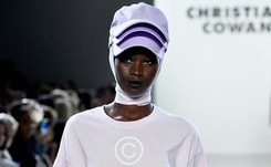Christian Cowan keeps his crowd happy at NYFW