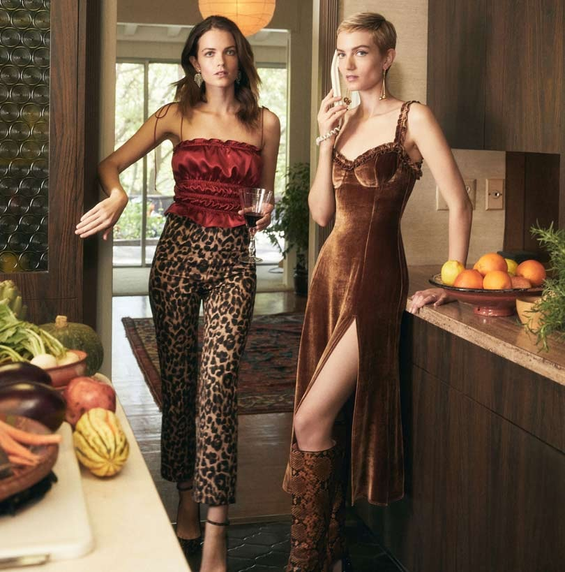 In Pictures: Reformation unveils holiday collection