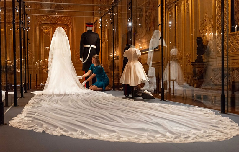 Inside the Duke and Duchess of Sussex's wedding exhibition