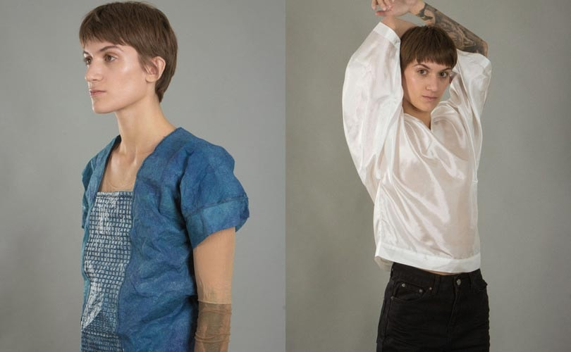 Filippa K showcases biodegradable dresses and recyclable coats