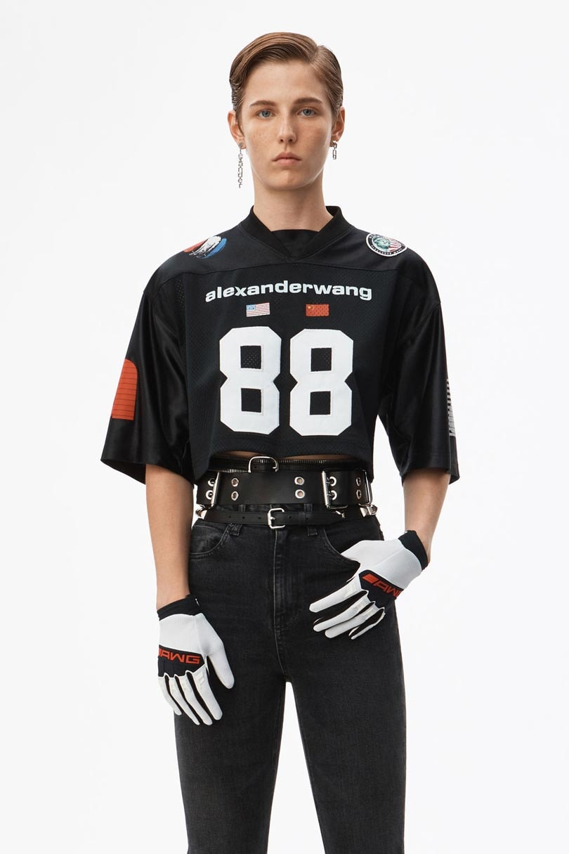 In Pictures: Alexander Wang pays tribute to the American rebel with new collection