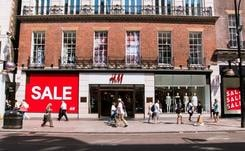 Sales flat in January as retailers stockpile for no-deal Brexit