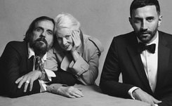Burberry and Vivienne Westwood offer glimpse of new collaboration