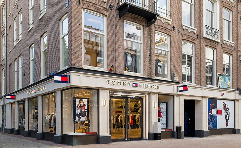 detailed images new style elegant shoes The store of the future': Inside Tommy Hilfiger's Amsterdam ...