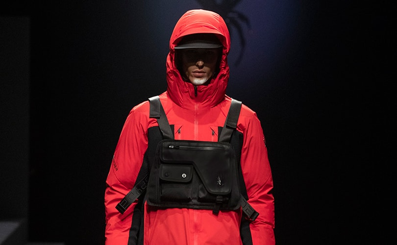 Spyder makes a comeback during Milan Fashion Week: Men's