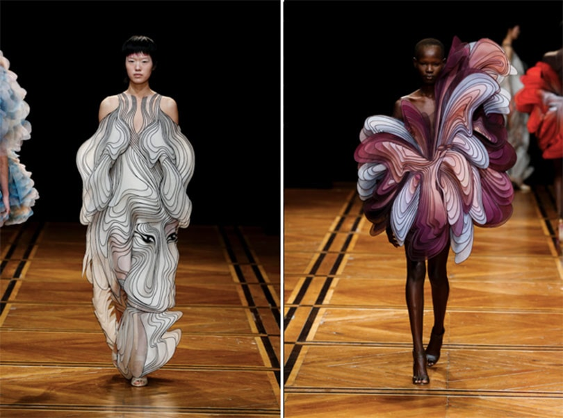 Iris van Herpen blends DNA engineering and early astronomy into couture