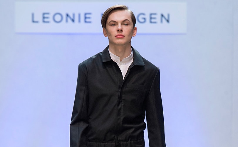 LFW: Leonie Mergen 'Black Gold' AW19