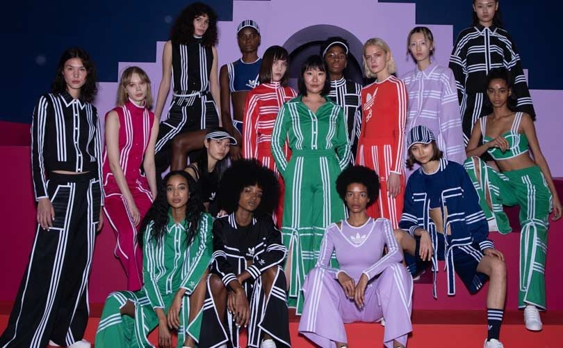 Adidas Originals debuts collaboration with Ji Won Choi at London Fashion Week