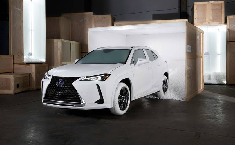 Streetwear designer John Elliott designs car tires for Lexus