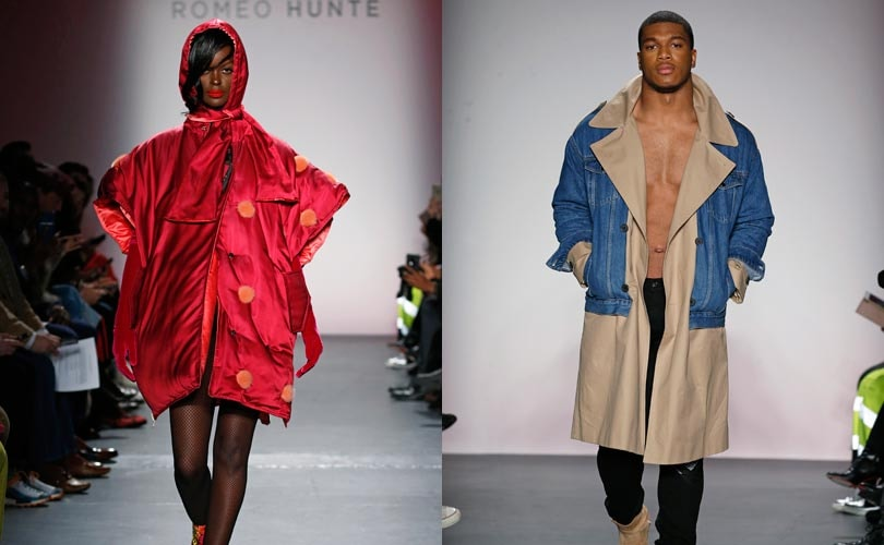 Romeo Hunte brings street glam to New York Fashion Week
