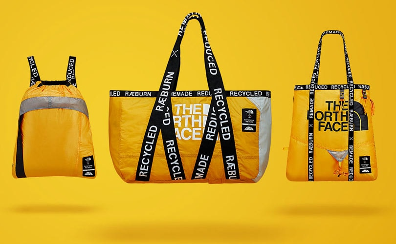 The North Face and Christopher Raeburn transform old tents into bags