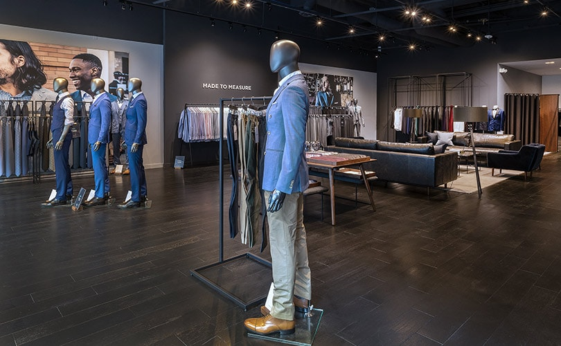 cc54619b8a Suits label Indochino is looking to significantly expand its presence in  the West Coast. The brand has opened a new showroom in Santa Monica Place  last week ...