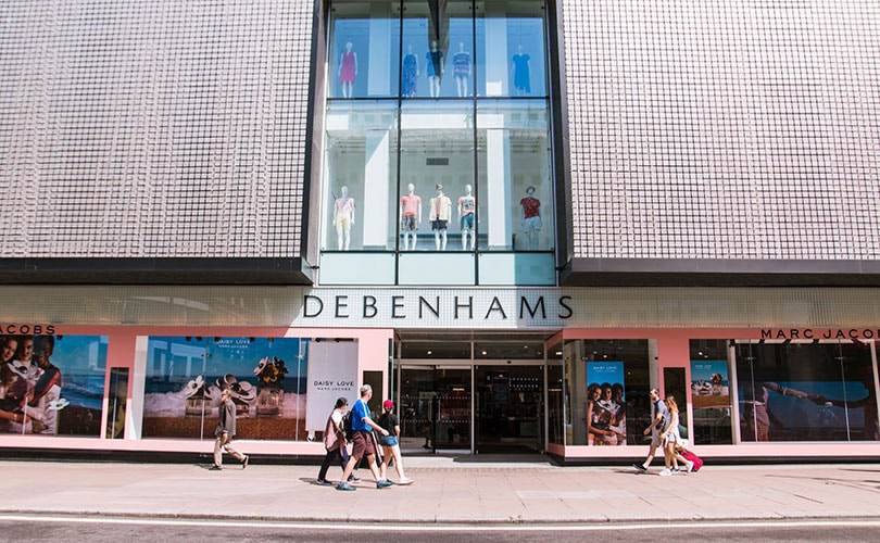 Debenhams completes 200 million pound funding round