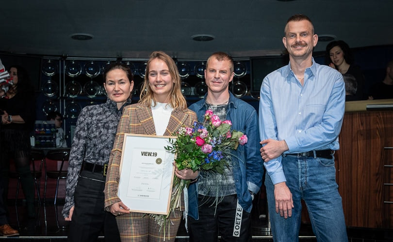 First AMD Fashion Award for International Fashion Design (B.A.) graduates