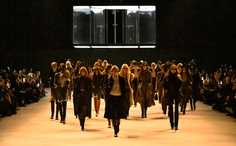 Hedi Slimane shakes up Paris Fashion Week with a new look Celine