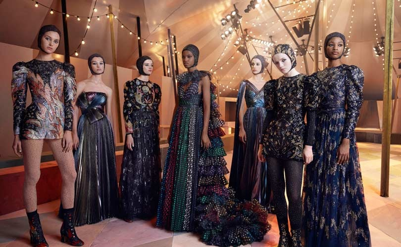 Dior unveils capsule collection in first Dubai show