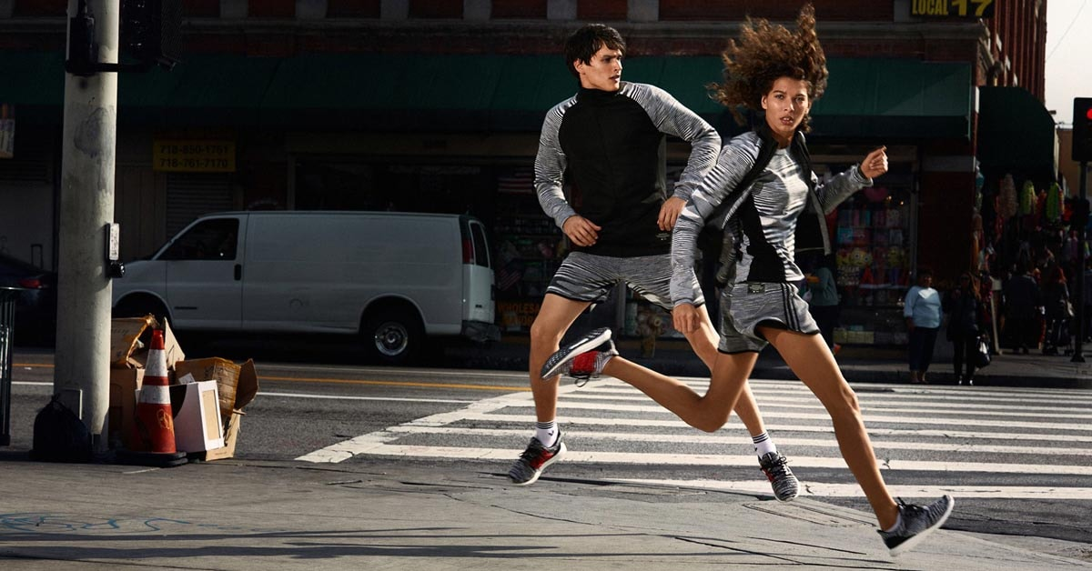 In pictures: Missoni launches collection with Adidas