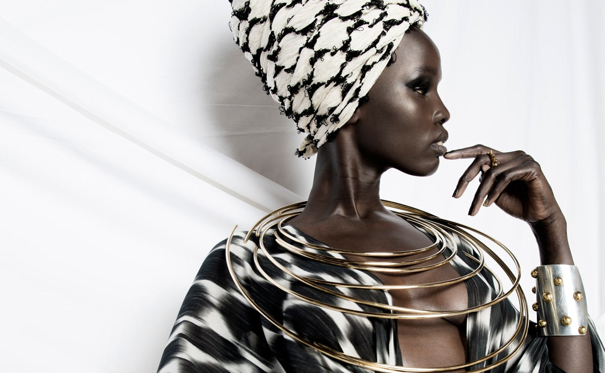 Meet the Senegalese brand whose prints are based on mathematical equations