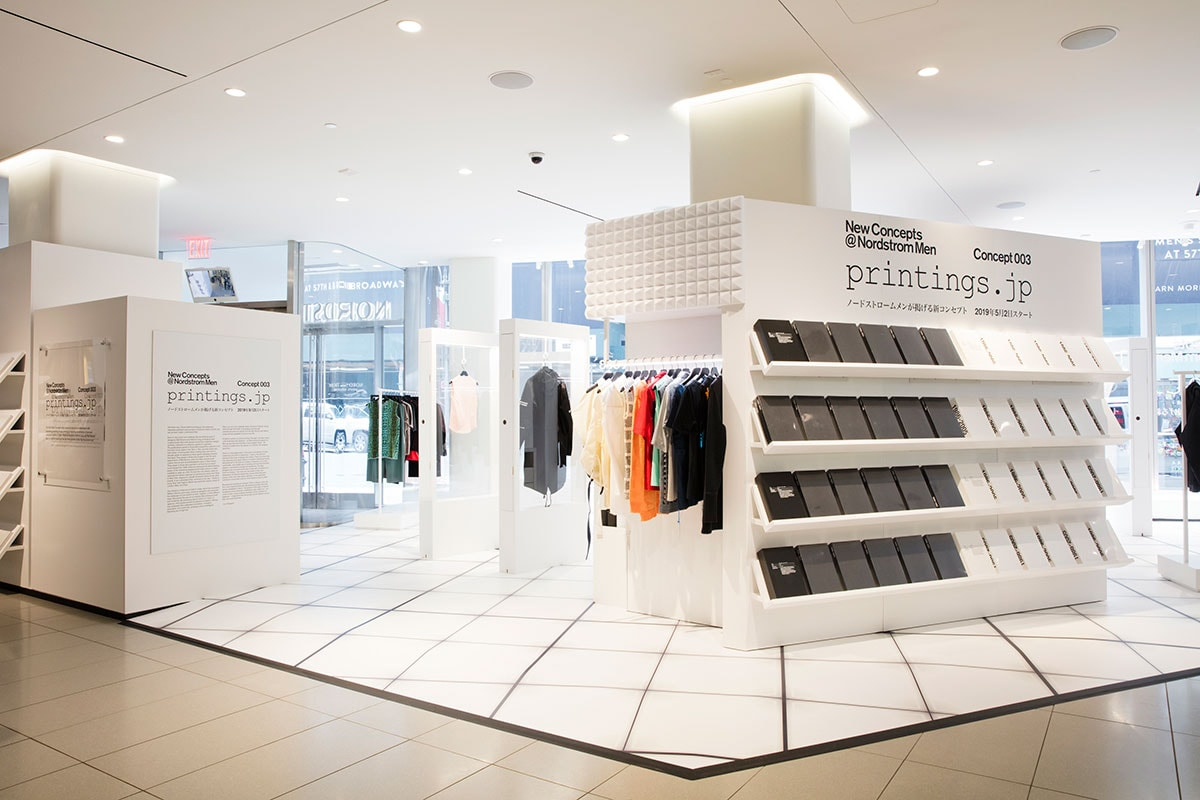 Nordstrom New Concept focus Raf Simons and Helmut Lang