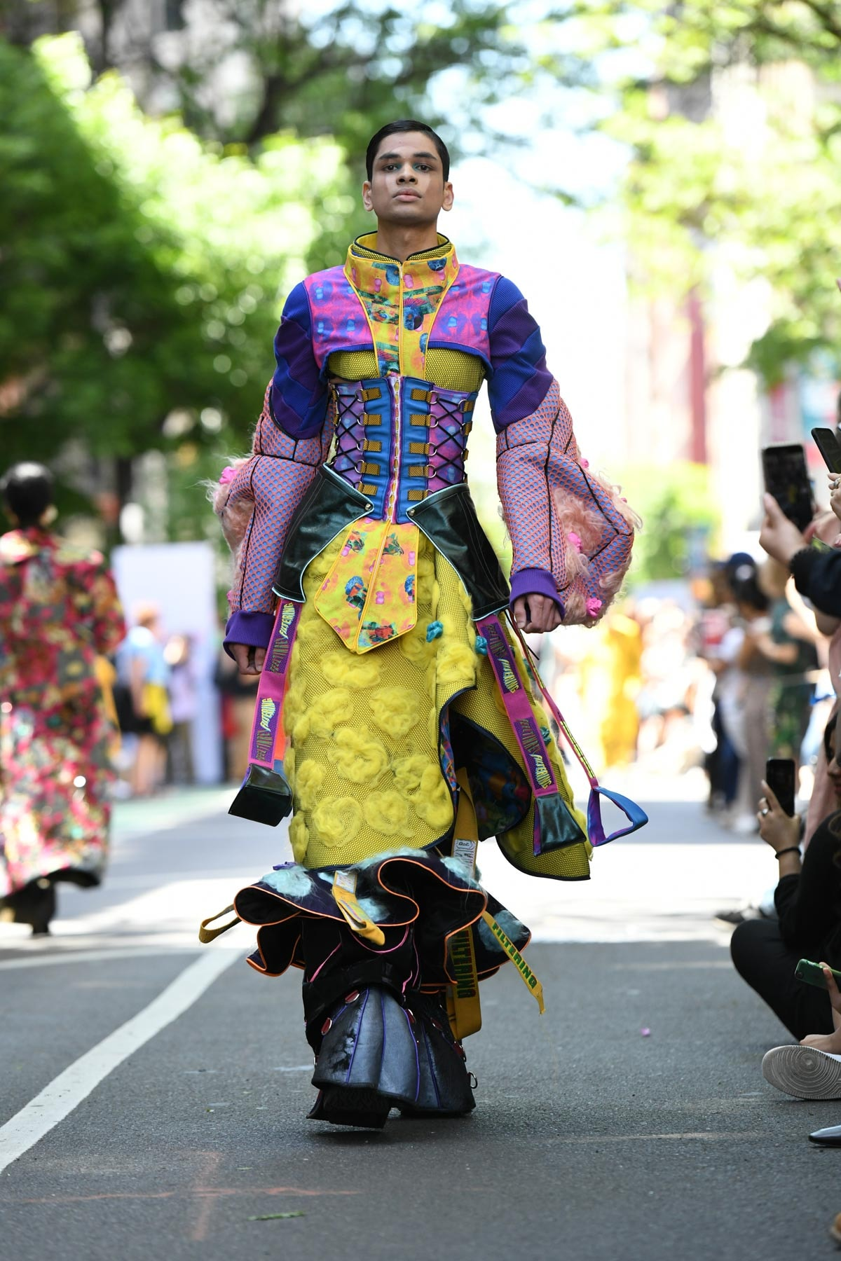 In pictures: Parsons first ever street fashion show