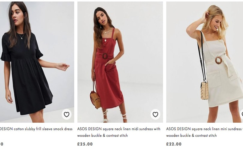 "Asos introduces ""responsible edit"" vertical to its site"