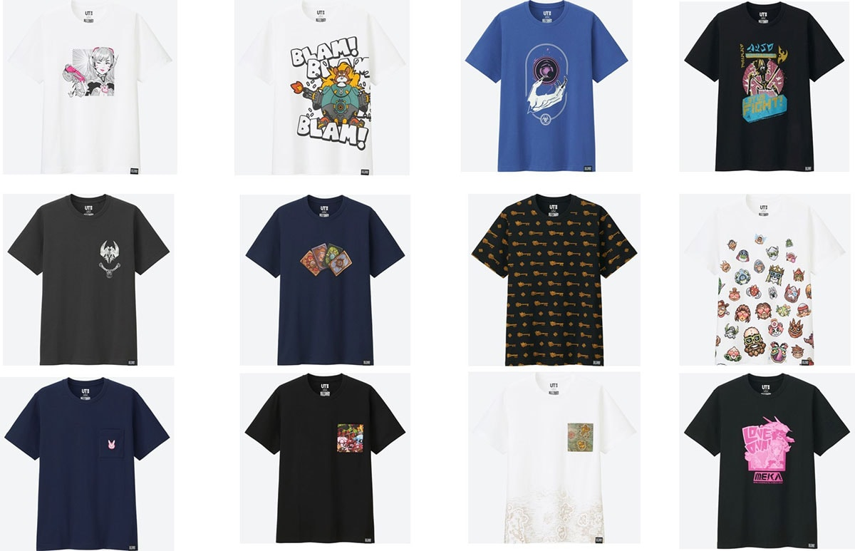 Uniqlo launches T-shirt line with computer game giant Blizzard Entertainment