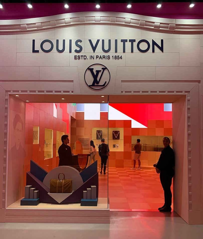 Louis Vuitton debuts LVX exhibit in Beverly Hills