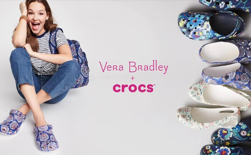 Vera Bradley and Crocs to launch a line of footwear