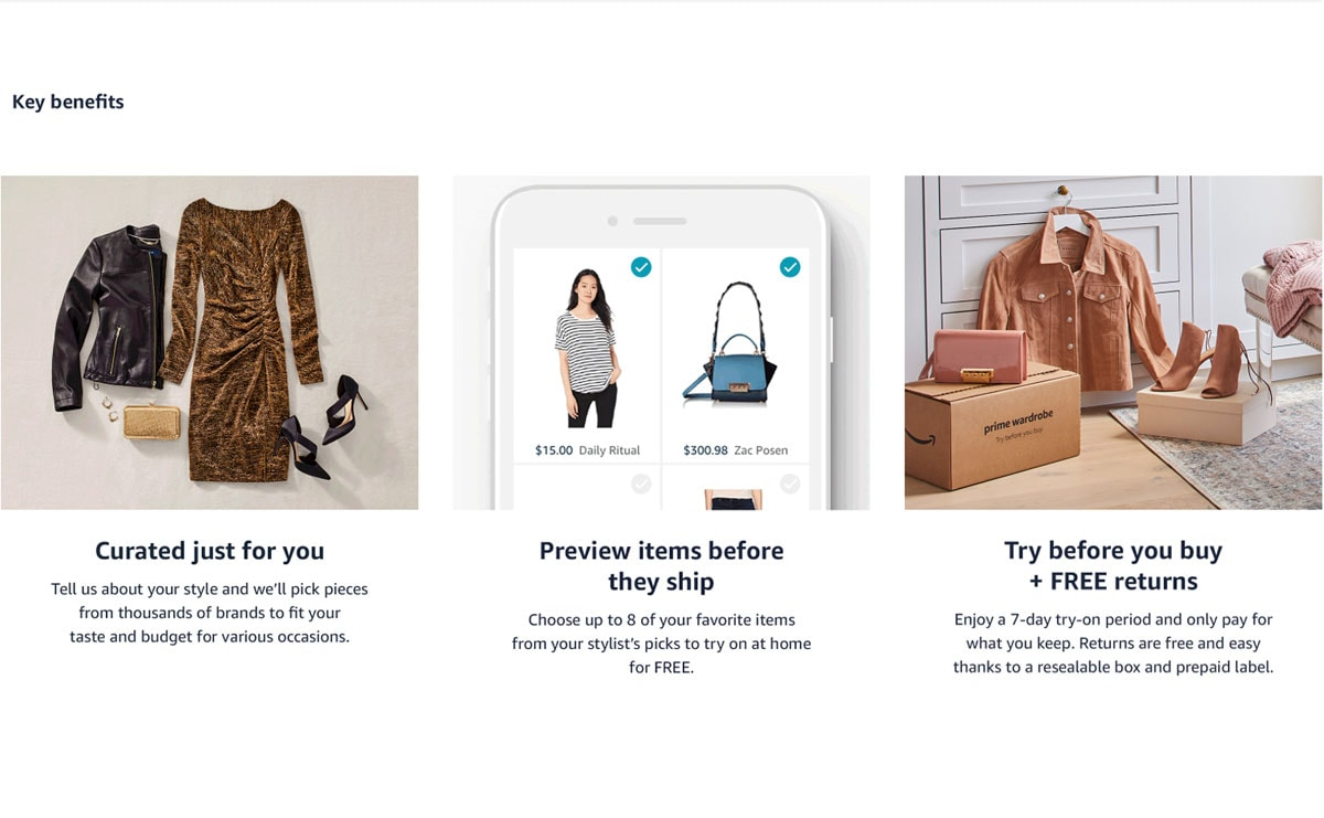 Amazon launches Prime personal shopping service