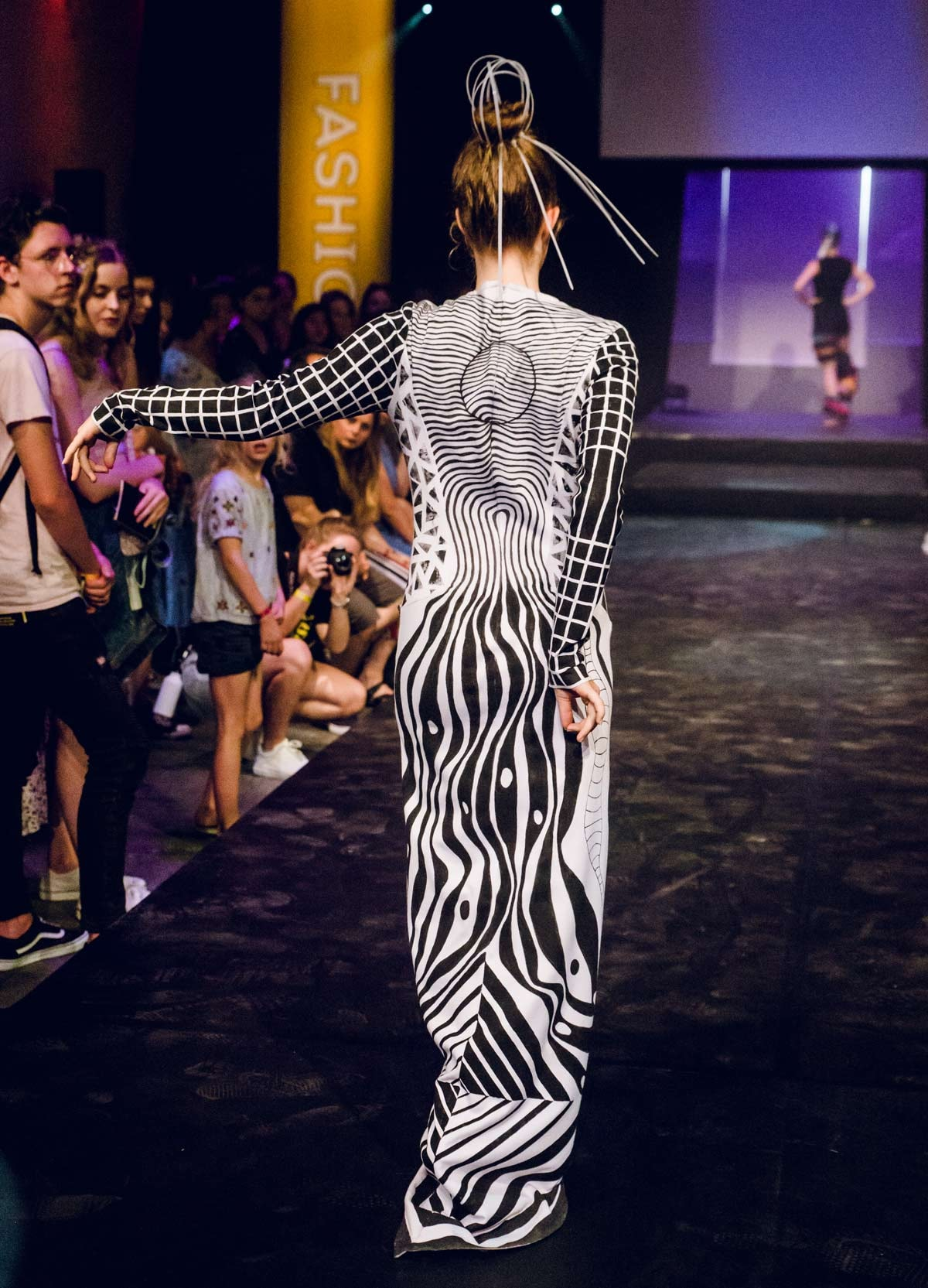 In pictures: Fifteen-year-old wins Dutch young talent fashion prize