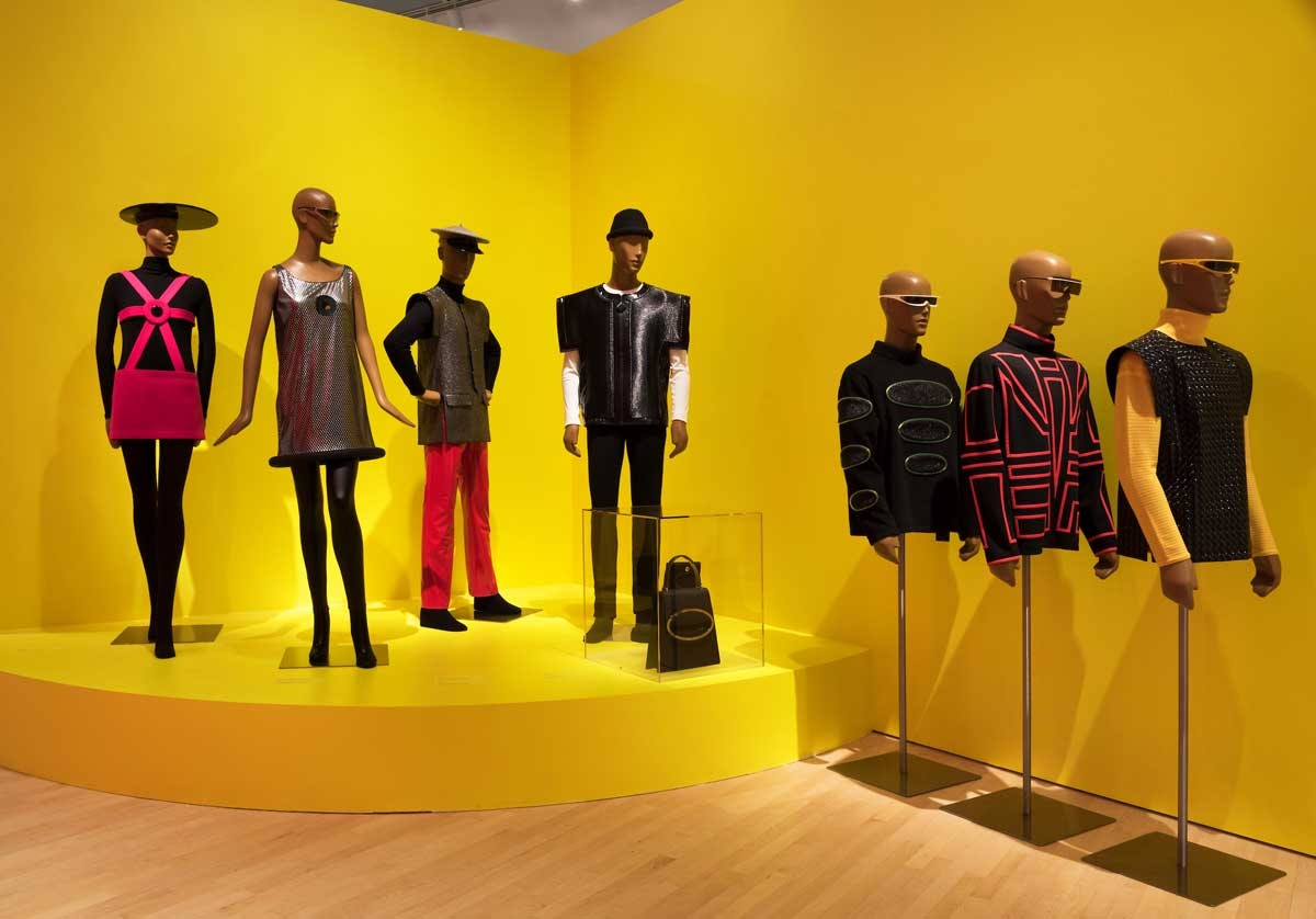 Cardin NY exhibit awakens the designer's once innovative reputation