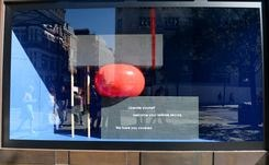 Thinx and Selfridges team up on a window display about periods