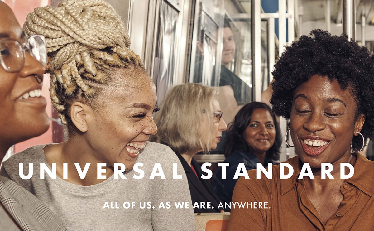Universal Standard unveils new campaign on NYC subway