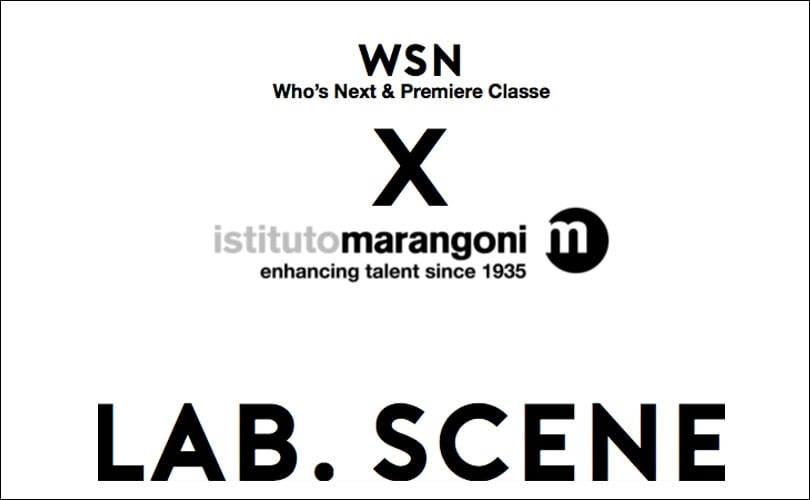 Istituto Marangoni Paris and WSN Launch LAB SCENE Contest and Incubator