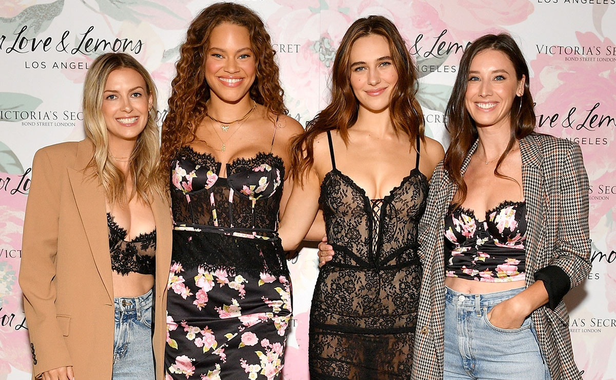 Victoria S Secret Launches Exclusive Collection With For Love Lemons