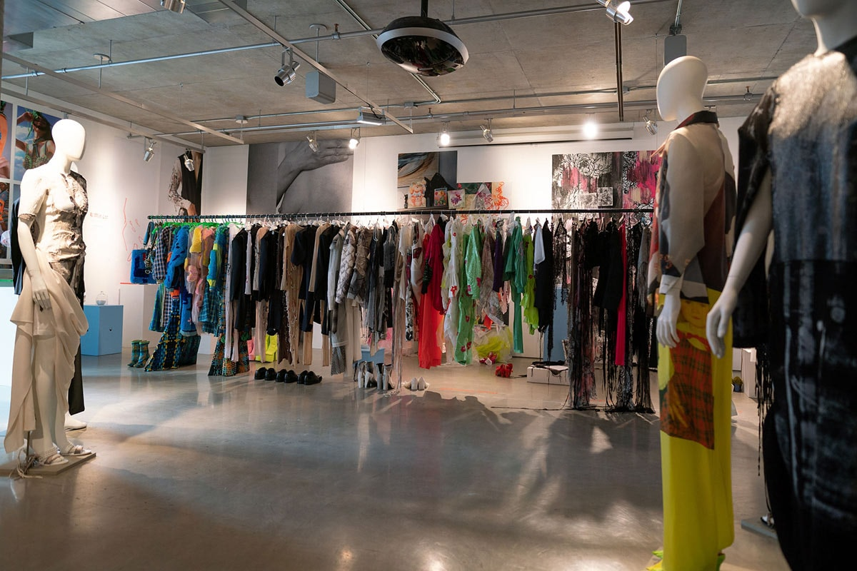 Chargeurs hosts exhibition for Parsons School of Design throughout NYFW