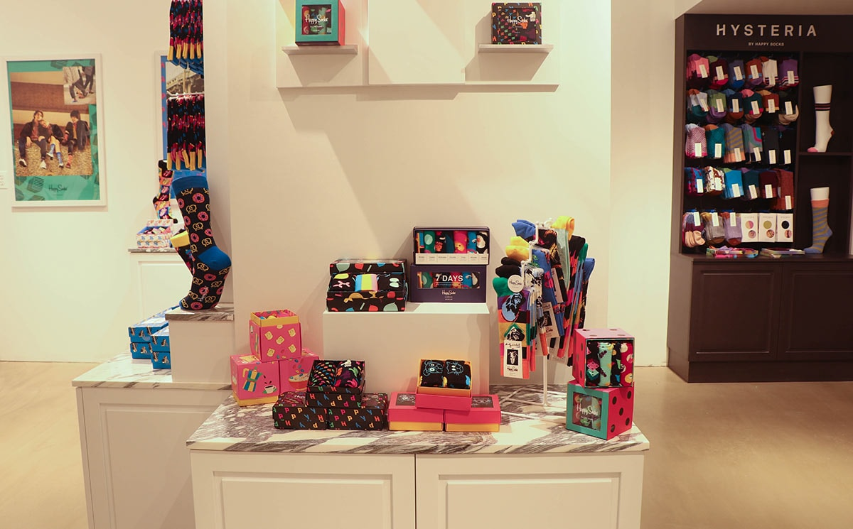 Happy Socks opens Herald Square store