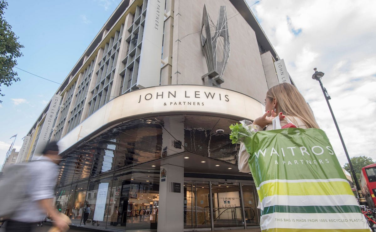 John Lewis posts 8.8 percent rise in weekly fashion sales