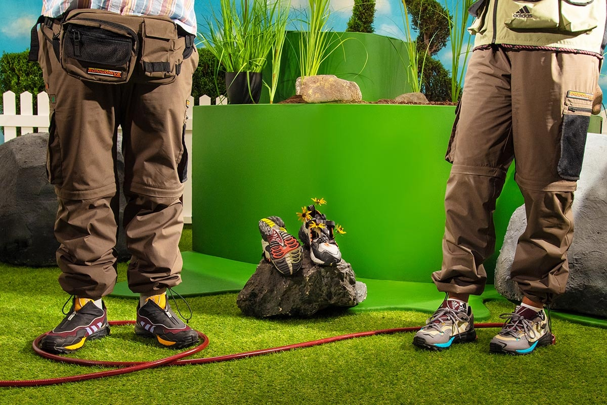 In pictures: Adidas launches gardening-themed collection